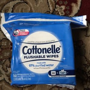 brand new Cottonelle Wipes Flushable Wipes